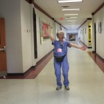 "Ann Connor, aka ""Able Ann,"" demonstrates her enthusiasm for making any setting a healthcare setting."