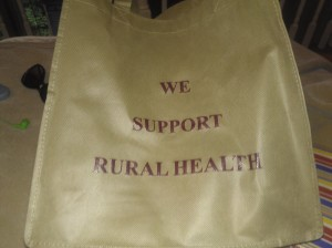 We support rural health