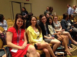 Emory nursing students at the closing ceremony