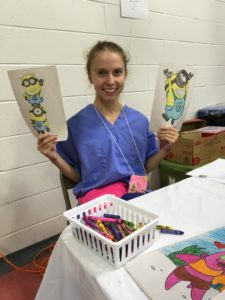 """I feel very fortunate to have been able to attend Moultrie as my first clinical experience and will remember how appreciative these farmworkers were. Moultrie offered me the opportunity to work in an interdisciplinary team with other compassionate and dedicated health care providers. I sincerely hope that Emory continues to send nursing students to help provide care to this deserving population."" Grace Pixler, BSN Candidate '18"